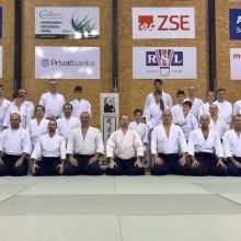 25.-26.11.2017 - Regionálny seminár aikido SAA - Bratislava + STV Kyu/ Mário Černý 5. Dan Aikikai, Shidoin