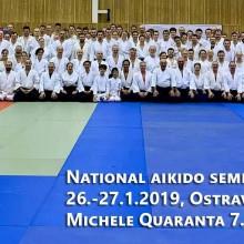 30 vyrocie aikido Ostrava - 250 ludi na Tatami a kompletna technicka komisia.