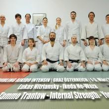 FRUHLING AIKIDO INTENSIV   GRAZ ÖSTERREICH   1-3. März 2019  Lukas Nitriansky 4.Dan - Ikeda Ne-Waza Tammo Trantow 4.Dan - Internal Strength - Yoga
