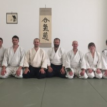 Aikido BN + Tammo Trantow 4. Dan + Mário Černý 5. Dan  1.-2.6.2019 - Regionálny seminár aikido - Trnava