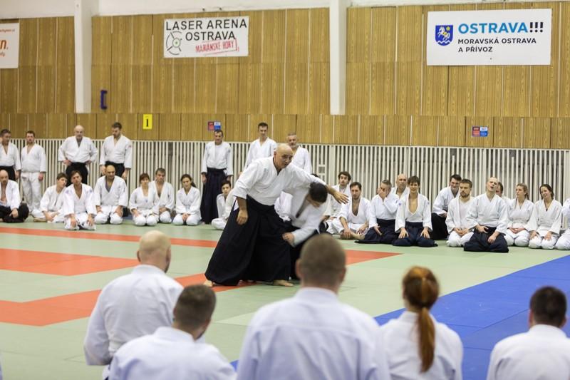 National Aikido Seminar of Slovak Aikido Association/ Aikikai Slovakia, Michele Quaranta 6. Dan Aikikai, Shihan - Ostrava (CZ) 27.-28.1.2018