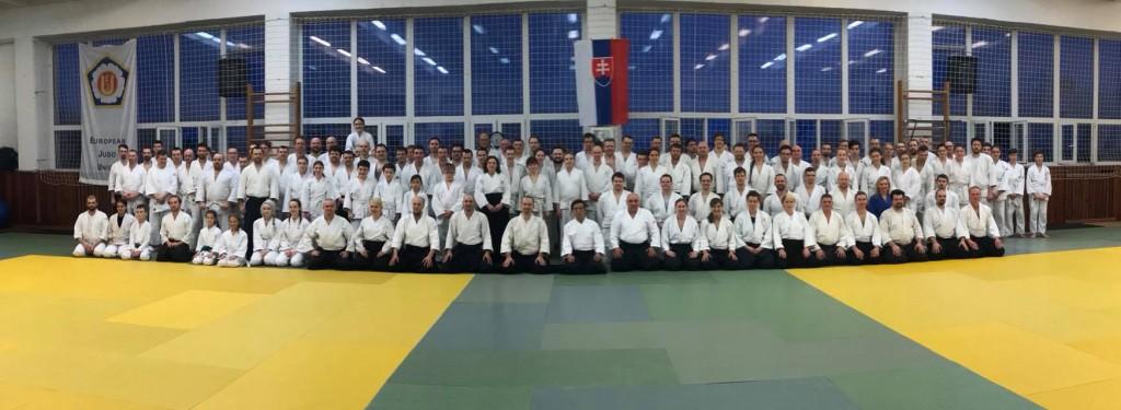 International Aikido Seminar - Aikikai Slovakia - Asai Katsuaki sensei 8. Dan Aikikai + Michele Quaranta sensei 6. Dan Aikikai 17.-18.3.2018, Bratislava (SK)