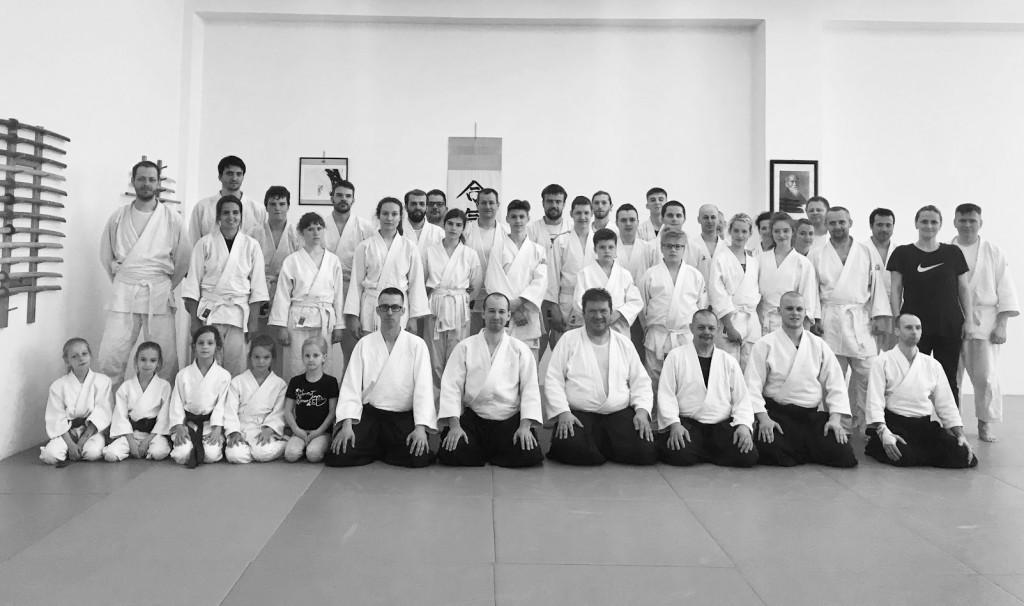 TRNAVA (SK) APRIL 2018  - Regionalny seminar aikido (SAA) - Mario Cerny