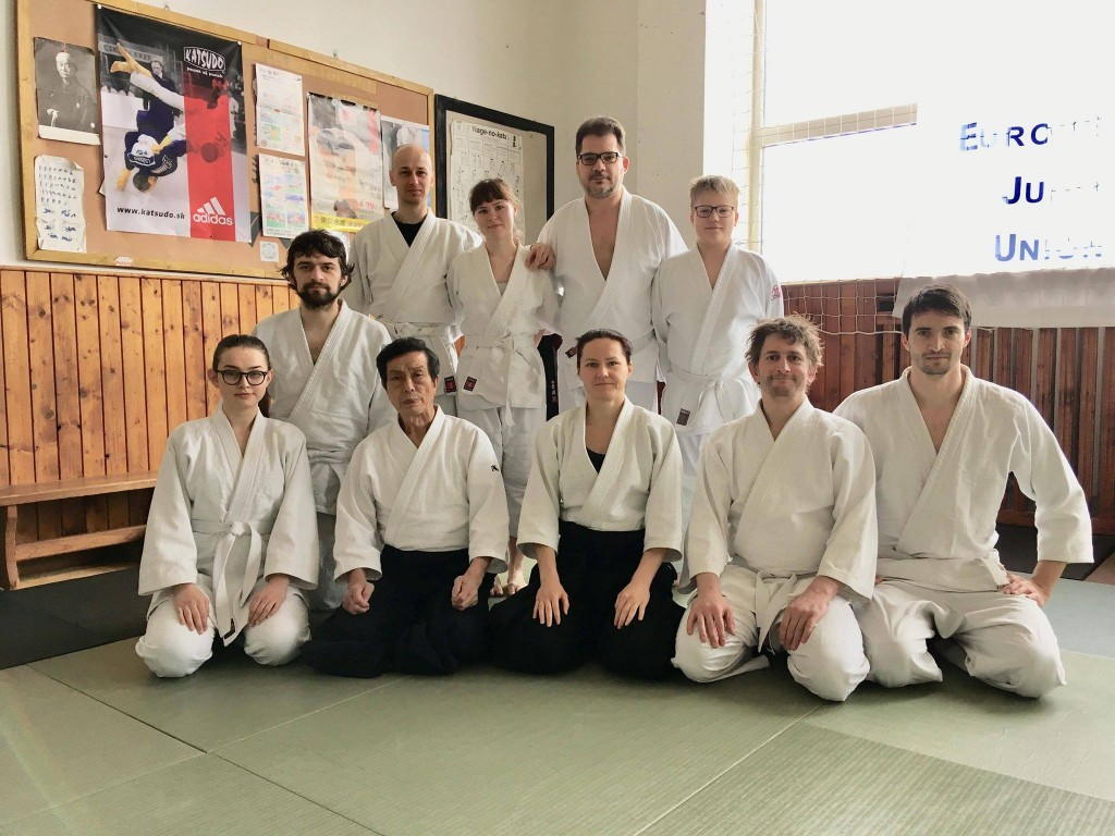 Aikido BN + Aikido PB s Asai Katsuaki 8. Dan Aikikai, Shihan - National aikido seminar of Slovak Aikido Association/ Aikikai Slovakia, 16.-17.3.2019, Bratislava (SK)