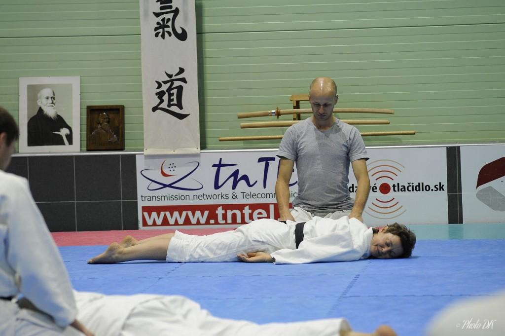 BIO TAISO  3.-9.8.2019  Trenčín Slovakia Aikido letná škola / Aikido summer school  Michele Quaranta Shihan 7. Dan Aikikai
